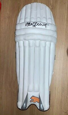AU499 • Buy Adam Gilchrist Signed Official Puma Batting Pad + COA