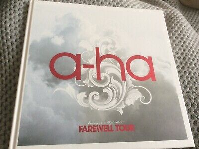 A-HA - Ending On A High Note - The Farewell Tour Hardback Book • 14.99£