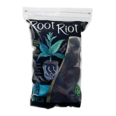 £17.16 • Buy Root Riot Replacement Cubes - Organic Seed Moistened Starter Plugs 50 Pack