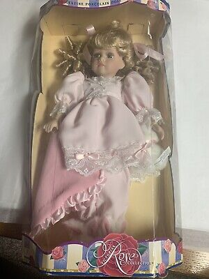 $ CDN26.65 • Buy Victorian Rose Collection Porcelain Doll By Melissa Jane #10900