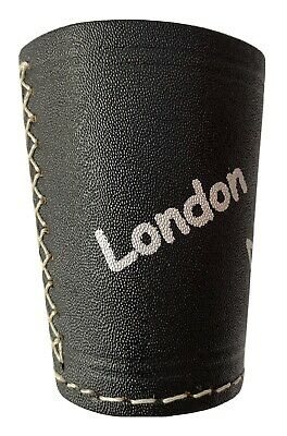 £5.49 • Buy Leather Dice Cup, Quiet Shaker, Personalised, Perudo, Casino Games, Yahtzee..!!!