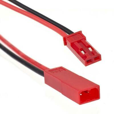AU3.95 • Buy 2 Pairs 150mm 2pin JST Male Plug To Female Socket Connector Wire For RC Model