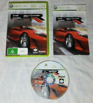AU8.99 • Buy Project Gotham Racing 3. PGR 3 Xbox 360 Game X360. Free Postage. Great Condition