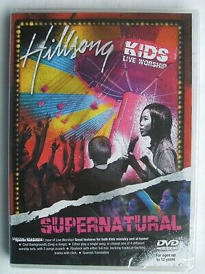 $13.99 • Buy Hillsong Kids Live Worship - Supernatural - DVD - New / Sealed - Free Shipping