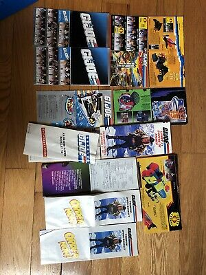 $ CDN75 • Buy Rare Vintage GI Joe Lot Of Pamphlets/Booklets/Mail Away Order Forms Etc! Lot A
