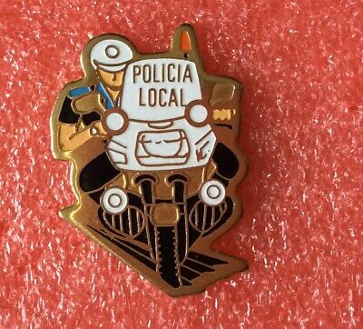 Pins POLICE MOTO POLICIA LOCAL Traffic Branch Motorcycle Lapel Pin Badge Tie Tac • 5.37£