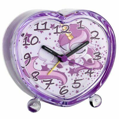 AU44.95 • Buy NEW TFA Unicorn Kids Alarm Clock, Pink, 11cm