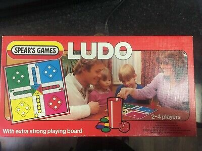 Vintage Ludo Board Game Spears Games 100% Complete • 5£