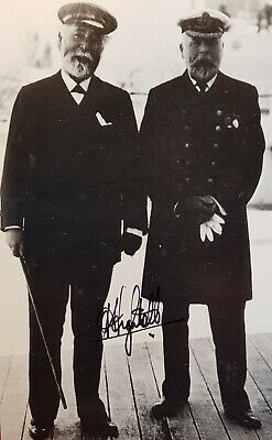 TITANIC Modern Postcard Personally Signed By Commander A.T. Lightoller R.N.  • 13.99£