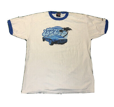 $59.97 • Buy Vintage Datsun 280z Car Nissan Promo Ringer T Shirt Men Xl Top Heavy Rare!!!!