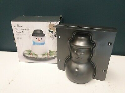 Crafton 3D Snowman Cake Tin Mould - NEW • 11.99£