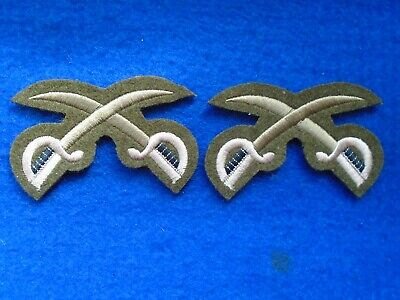 2 X British Military Guards Physical Training Instructors Woven Trade Badges • 6£