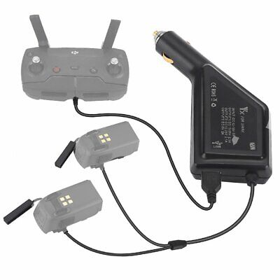 AU28.23 • Buy Battery/Controller Charging Hub Car Connector USB Adapter Charger For DJI Spark