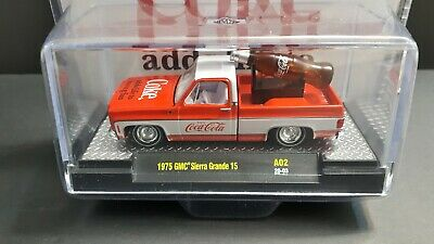 $ CDN29.98 • Buy 1/64 M2 Machines *Coca Cola* 1975 Square Body Truck GMC Sierra Grande 15 +1🎁