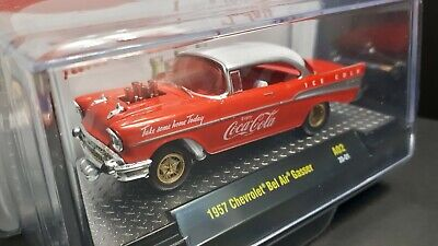 $ CDN29.98 • Buy 1/64 M2 Machines *Coca Cola* 1957 Chevrolet Bel Air Gasser +1Gift🎁