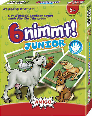 AU18.49 • Buy Amigo 9950 - 6 Nimmt! Junior - AMIGO 09950 AMIGO 09950 6 Nimmt! Junior Toys NEW