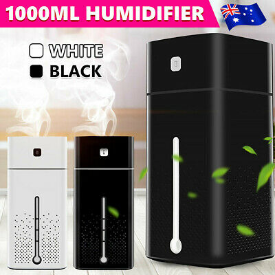 AU18.99 • Buy Aroma Aromatherapy Diffuser Essential Oil Ultrasonic Air Humidifier Purifier 1L