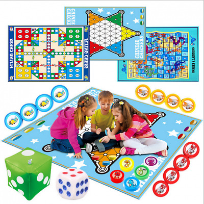 Traditional Giant Ludo Game Chinese Checkers For Family Travelling Toys • 8.94£