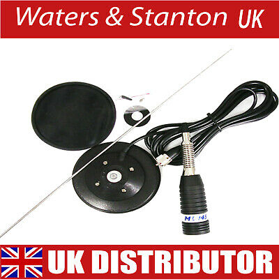 £36.95 • Buy Sirio ML145 MAG CB/amateur Antenna With Magnetic Mount, Cable & Plug