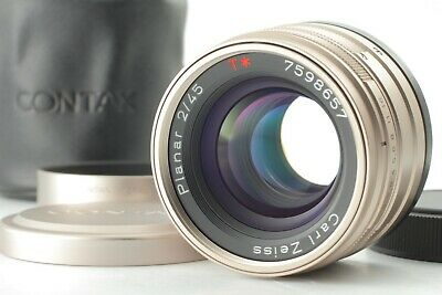 $399 • Buy ***Mint*** Contax Carl Zeiss Planar 45mm F2 T* Lens For G1 G2 From Japan #502