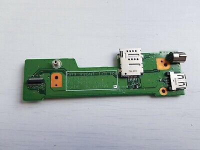 $10.90 • Buy Dell XPS M1530 Laptop Usb Port Board With Cmos Battery / Carte Usb