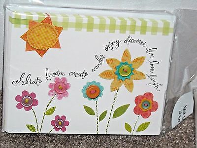 $2.99 • Buy American Greeting Lot Of 120 Blank Cards With Envelopes NEW Flowers