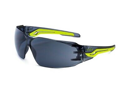 £8.16 • Buy (LL) Bolle Silex Safety Glasses Specs Smoked Lens Flexi Eye Protection EN166 FT