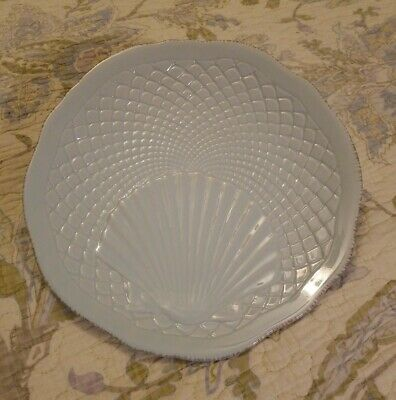 $9.95 • Buy Roscher NEW Nautilus AQUA Collection  8 3/4  Scallop Salad Plate