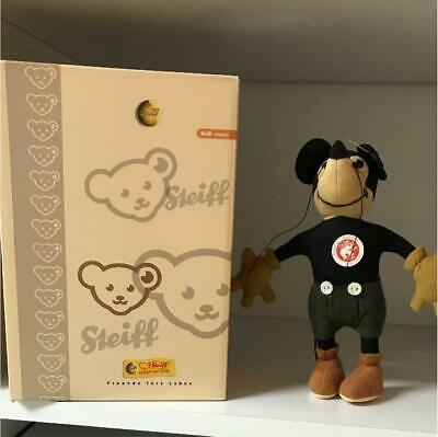 $400.50 • Buy Steiff Japan Limited Mickey Mouse Old Type Disnew 1000 Limited Serial:0409