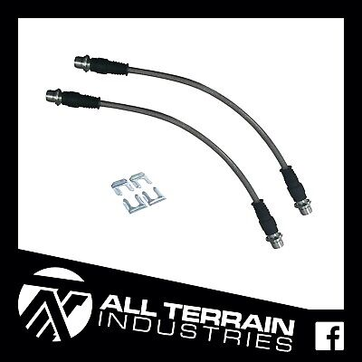 AU80 • Buy Ati Extended Braided Brake Lines - Front - Toyota N70 Hilux Kun26