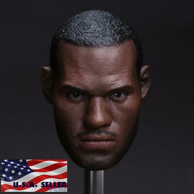 $38.99 • Buy 1/6 LeBron James Head Sculpt For Hot Toys Enterbay NBA PHICEN Male Figure ❶USA❶