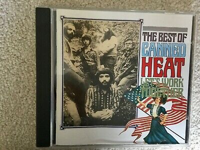 Canned Heat - Let's Work Together: THE BEST OF CANNED HEAT -VGC • 2.50£