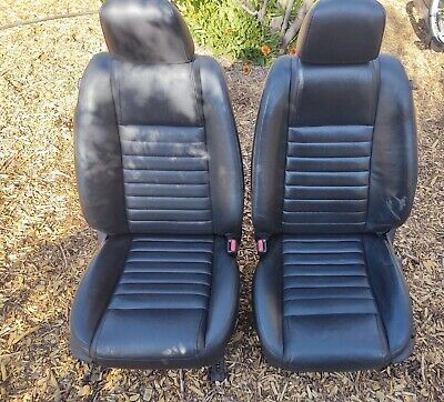 $849.99 • Buy 2005-2009 Ford Mustang Front Seat Set Leather Power Heated OEM