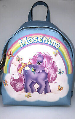 AU772.80 • Buy Moschino My Little Pony Backpack Purse