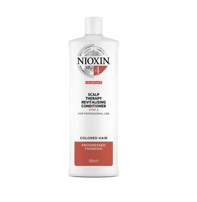 AU89.95 • Buy Nioxin System 4 Scalp Therapy Revitalising Conditioner Step 2 1000 ML