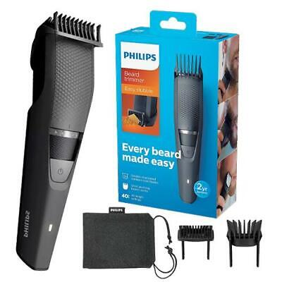 AU67.98 • Buy Philips Series 3000 BT3236 Mens Hair Clippers Beard Trimmer Stubble Shaver