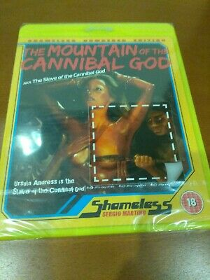 The Mountain Of The Cannibal God | Blu-ray | Shameless | Sergio Martino | New • 12£