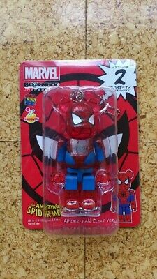 $50 • Buy Medicom Marvel Bearbrick Keychain - No. 2 Spider Man