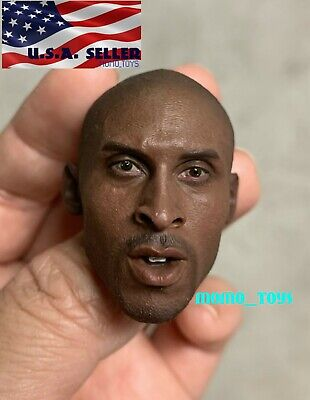 $36.50 • Buy Custom 1/6 Kobe Bryant Head Sculpt For 12  Hot Toys Enterbay PHICEN Figure ❶USA❶