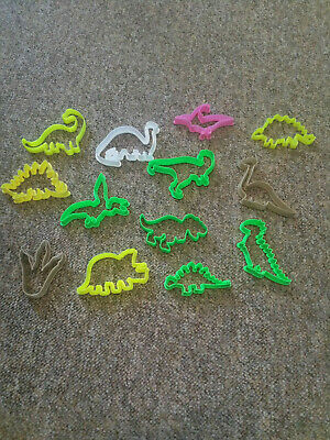 Dinosaur Cookie Cutters Biscuit,Pastry,Fondant Cutters Gingerbread Great For Kid • 2.42£