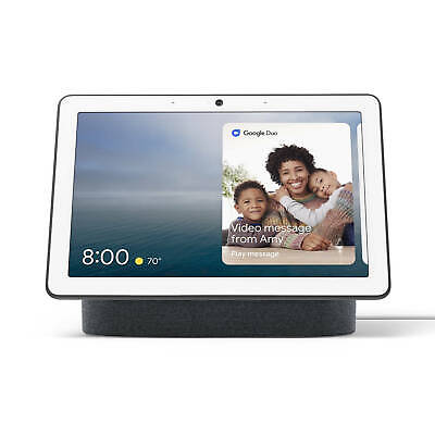 AU338.90 • Buy Google Nest Hub Max WiFi Wireless BT Assistant Speaker Smart Home Charcoal