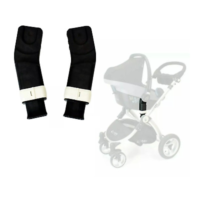 Baby Child ISafe Pram System Adaptors For Maxi Cosi Cabrio & Pebble Car Seat New • 26.99£