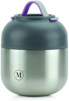 AU89.95 • Buy Minimal Stainless Steel Vacuum Insulated Food Jar V2 Thermos Soup Container