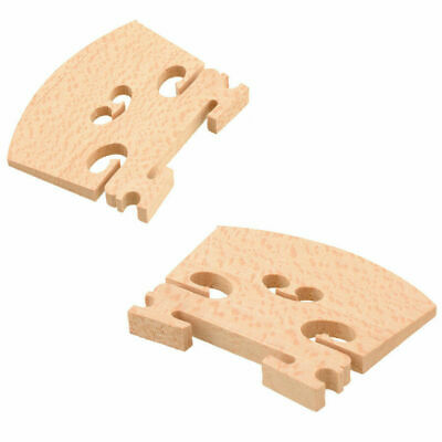 $4.95 • Buy Fitted Violin Bridge Size 4/4 With Grooves-free Shipping-