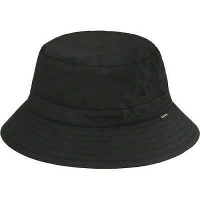 $ CDN204.29 • Buy New With Tags Supreme Barbour Waxed Cotton Crusher Hat Cap Black Medium Ss20 Ds