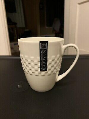 $16.50 • Buy Roscher Fine Porcelain Mug—Lattice Detail, V. Good Unused Cond. W/ Sticker-SALE!