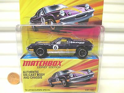 $ CDN4.13 • Buy Matchbox Lesney Edition Purple 1972 Lotus Europa Special New Mint In Mint Box