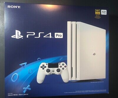 AU1090.85 • Buy Sony PS4 Pro 1TB Glacier WHITE Limited Edition NEW