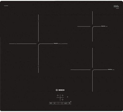 Bosch Hob PUJ611BB1E Induction, Number Of Burners/cooking Zones 3, Black • 347£