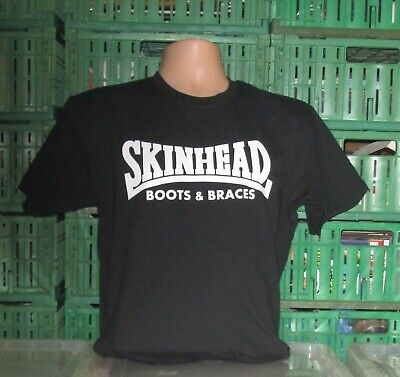 T Shirt Skinhead S Boots And Braces • 10.99£